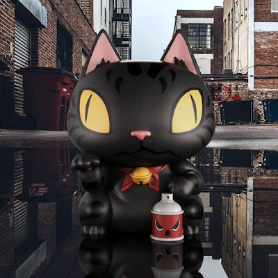 Alley Kat Vinyl Figure by Clogtwo x Mighty Jaxx