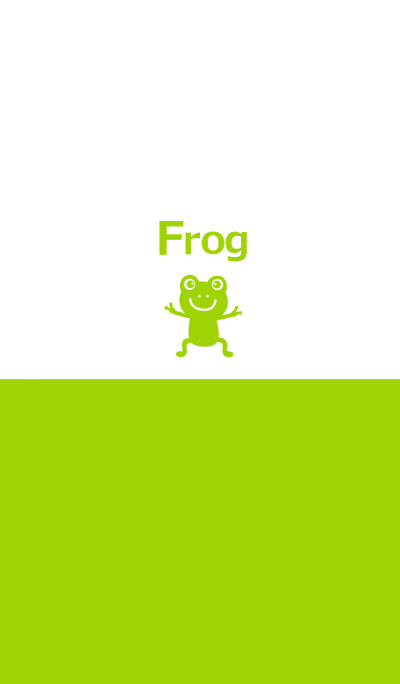 Two tone color and frog 2