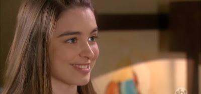 Isabella Moreira em cenas de As Aventuras de Poliana; atriz se irritou com perguntas sobre sua sexualidade