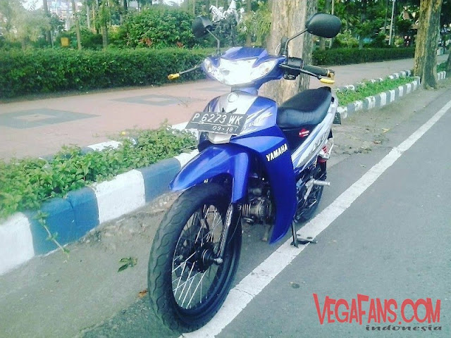 Vega R New Biru Modif Road Race Simple