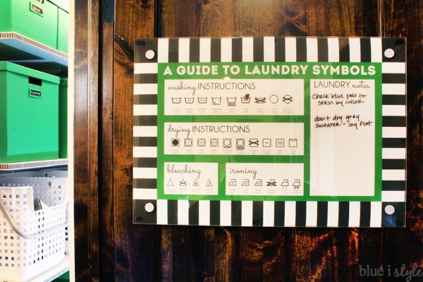 Dry Erase Laundry Memo Board