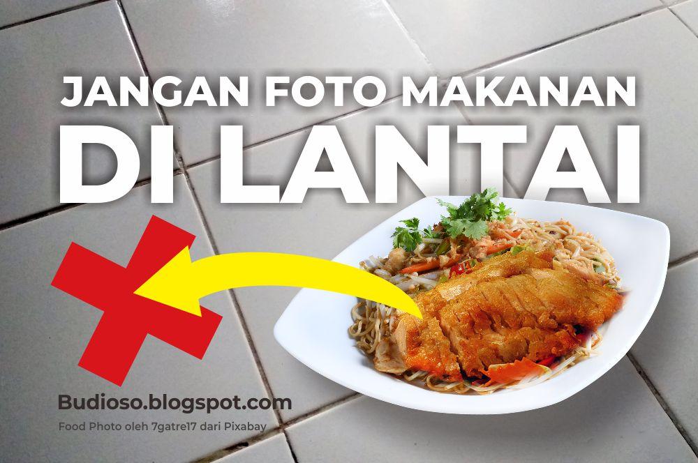 Cara foto produk kuliner makanan minuman yang baik