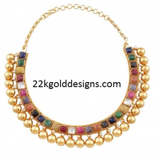 Amrapali Collar Hasli design