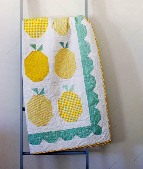 Summer Lemonade Quilt Free Tutorial