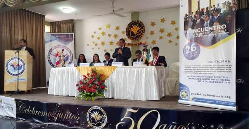 MINEDU: Alcaldes de Huánuco se comprometen a apoyar Buen Inicio del Año Escolar 2020 - www.minedu.gob.pe