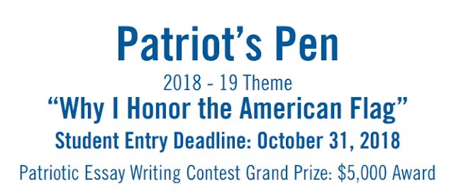 patriots pen essay prizes Vfw awards prizes in essay contest for students that will attend dillard middle the patriots pen essay contest will begin at the beginning of the 2016-17 school.