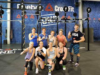 Reebok CrossFit One camaraderie - the best part of CrossFit is the atmosphere