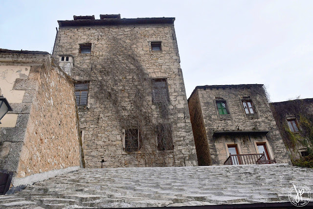Medieval structure in Mostar