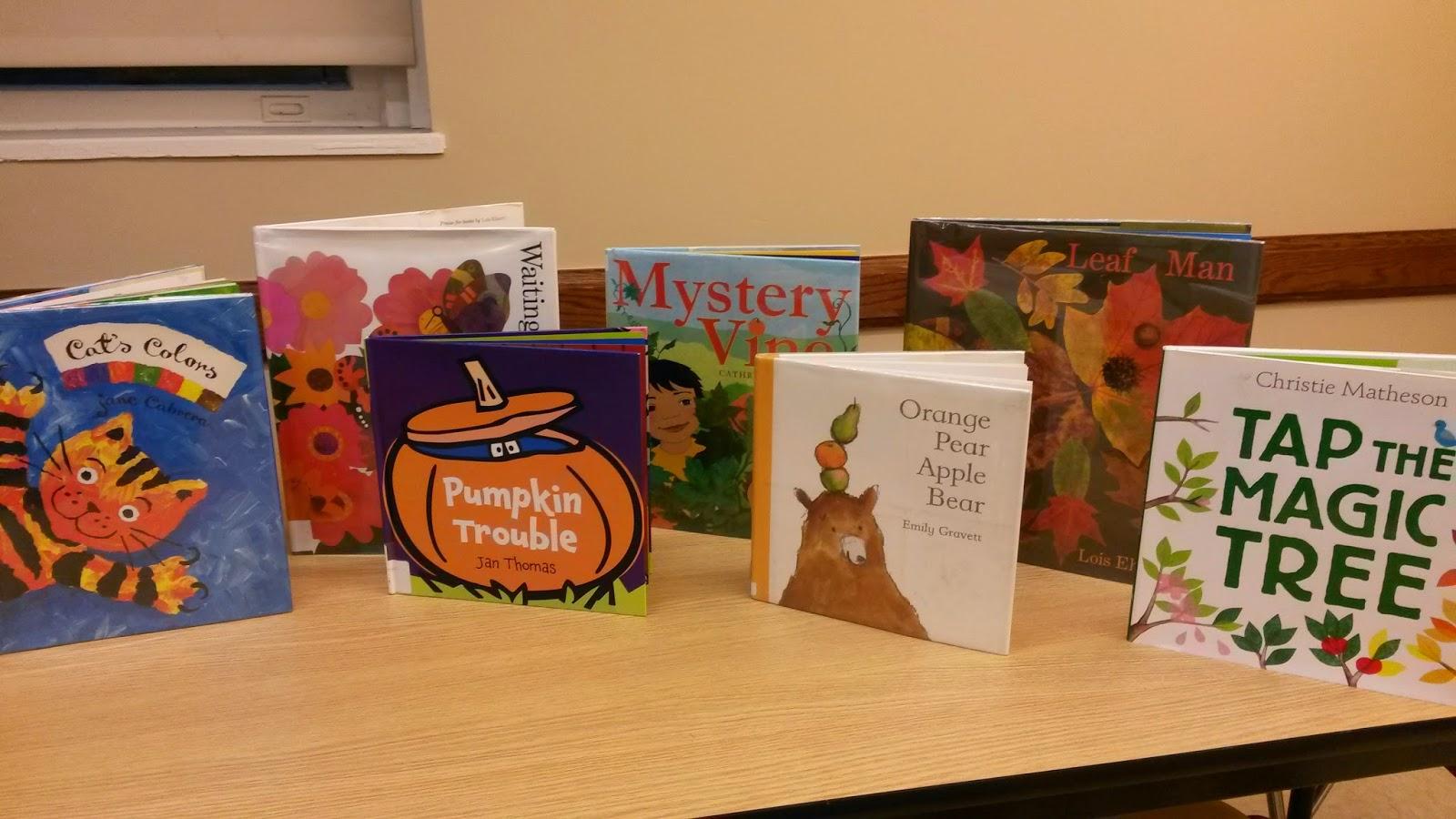 One Little Librarian Preschool Fun The Color Orange