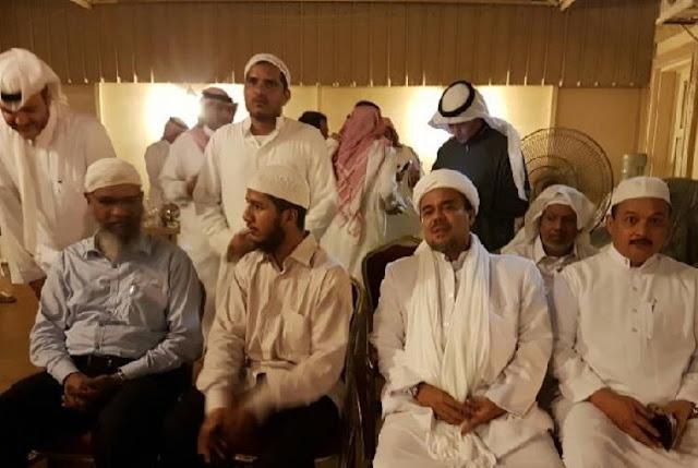Isi Pertemuan Habib Rizieq dengan Zakir Naik di Makkah