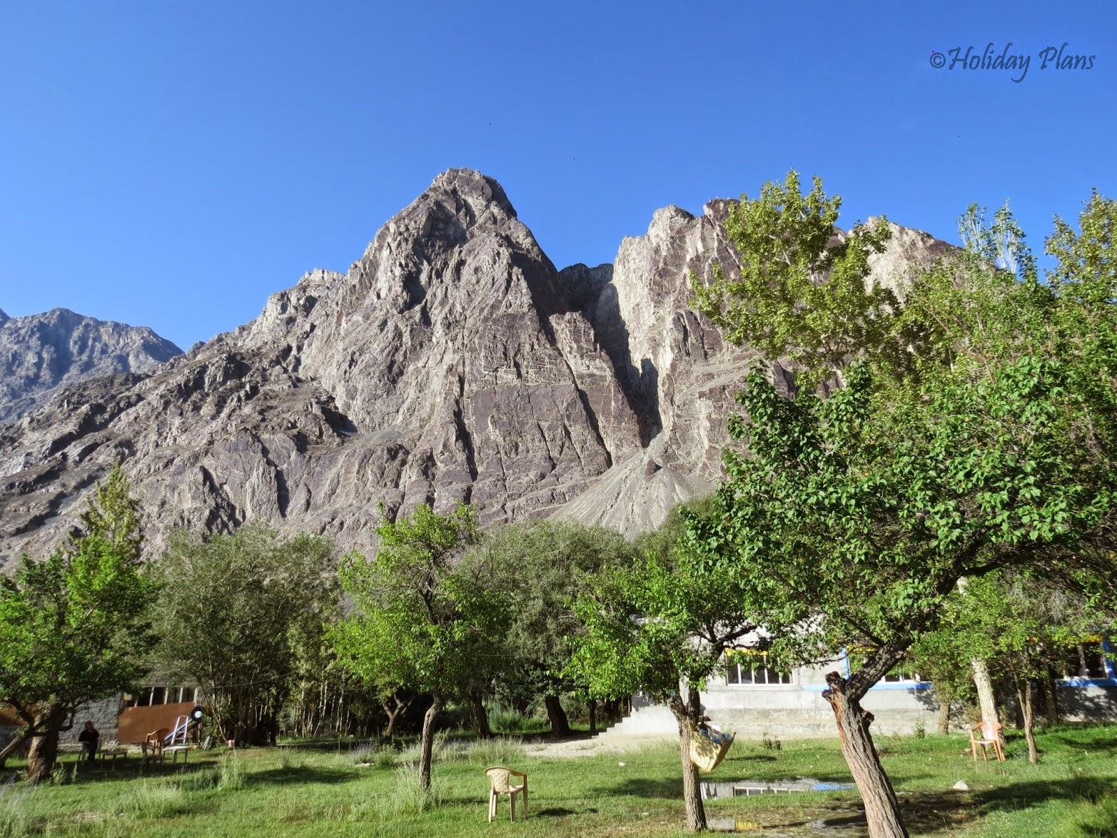 Nubra Valley mountains