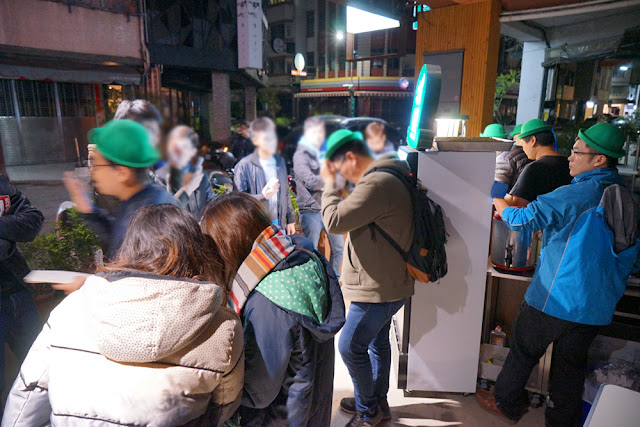 DSC09419 - 台中深夜食堂│深夜戴綠帽吃燒餅,綠帽燒餅試賣期間只到31號跨年夜,元旦就會先停售做修正(已歇業