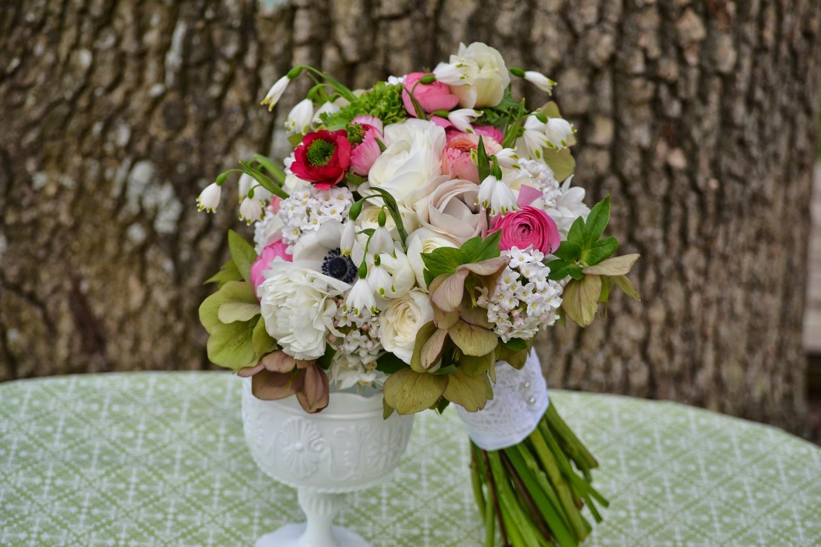Wedding Flowers From Springwell: Leucojum- A Dainty Flower