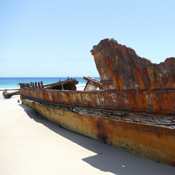 Bulwer Wrecks Schiffs-Wracks Moreton Island