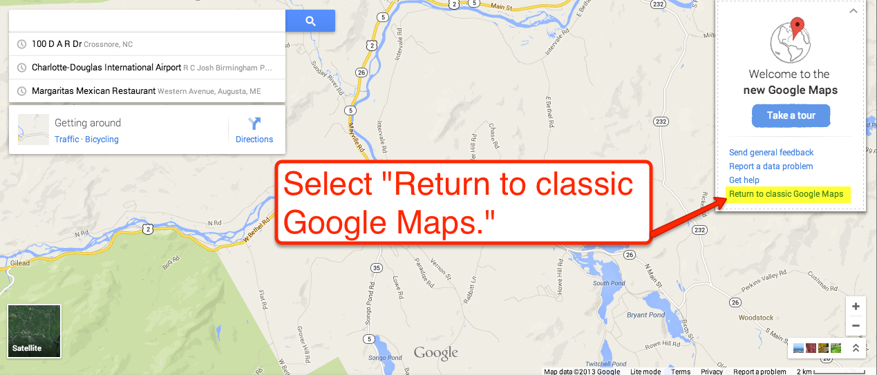 Free Technology for Teachers: Geeky Measurements and Math in Google Maps