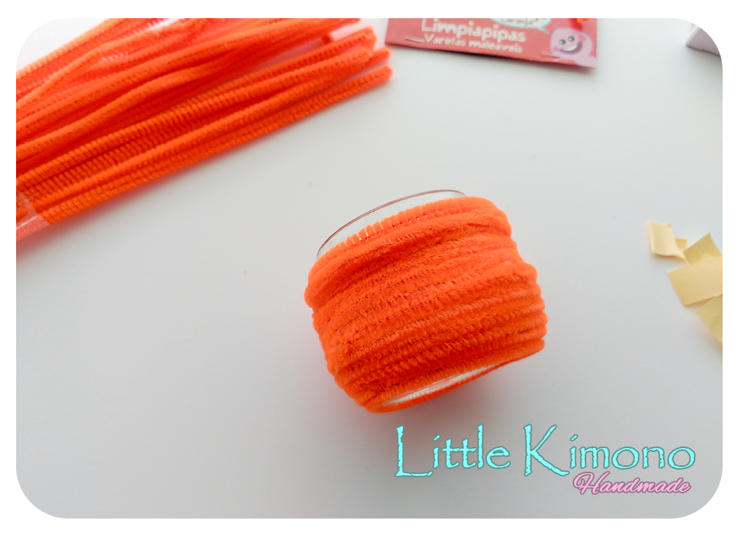 Bote Calabaza para chuches con limpiapipas - Handbox Craft Lovers ...