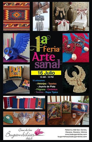 1st arts and craft fair in oaxaca mexico for Oaxaca mexico arts and crafts