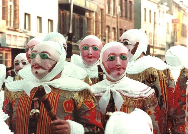 Gilles Carnaval Binche