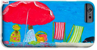 """Sunday afternoon at the beach"", phone case"