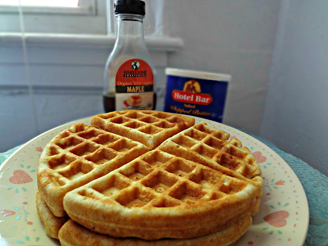 Crisp and Fluffy Whole Wheat Waffles