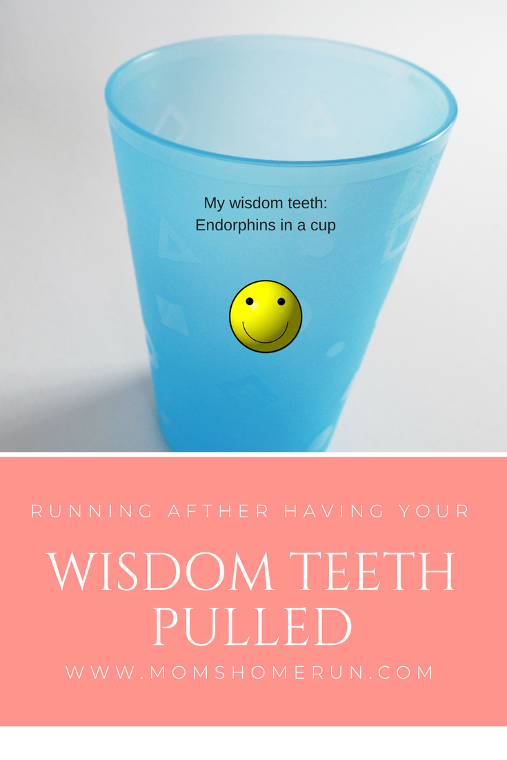 wisdom teeth and running