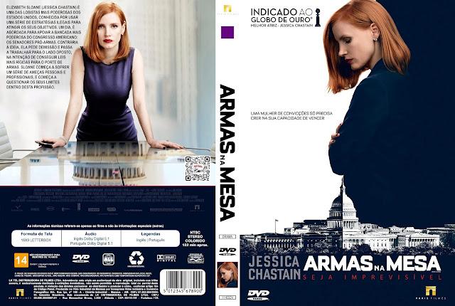 Capa DVD Armas na Mesa [Custom]