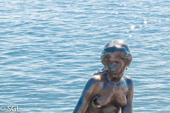 Rostro de la sirenita de Copenhague. 10 curiosidades de la sirenita de Copenhague