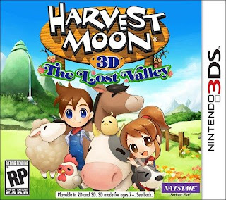 Harvest Moon The Lost Valley, 3ds, español