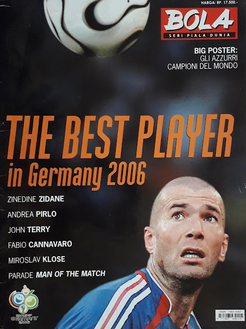 MAJALAH BOLA SERI PIALA DUNIA: THE BEST PLAYER IN GERMANY 2006