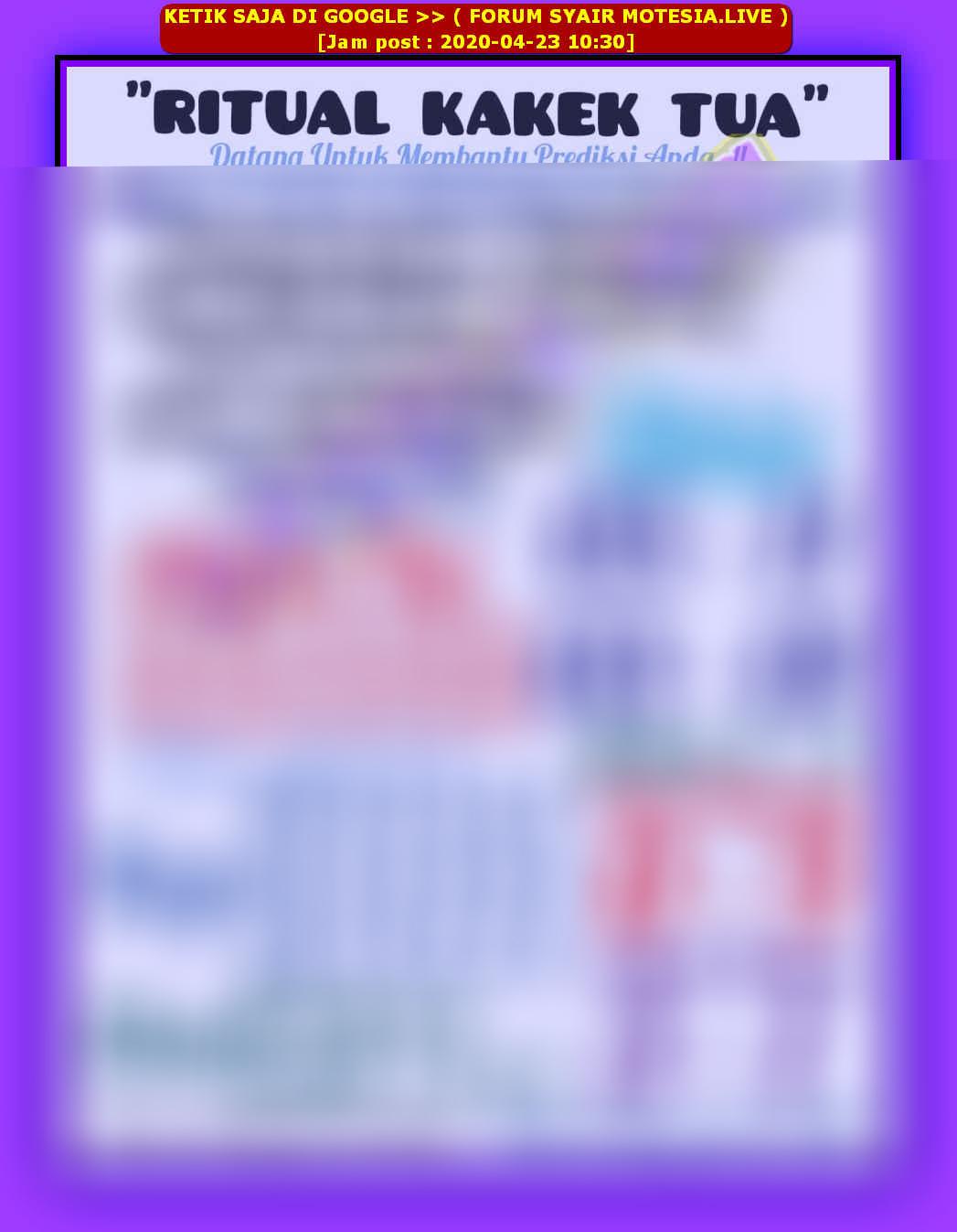 Kode syair Sydney Rabu 29 April 2020 18