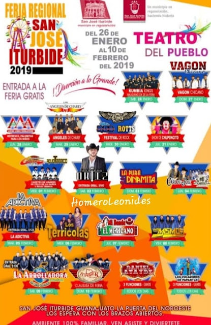 teatro del pueblo feria san josé iturbide 2019
