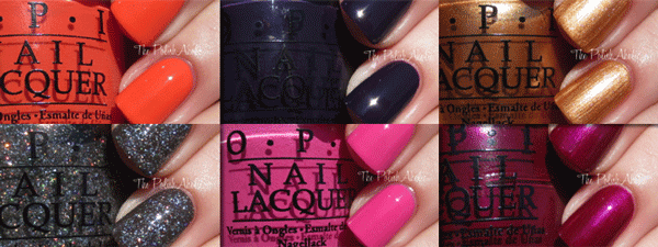 opi nordic collection 2014 - swatches1
