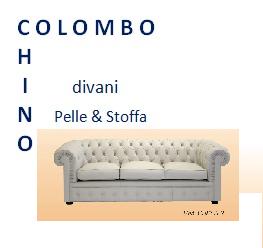 Colombo gioacchino poltrone e divani for Divani in stoffa