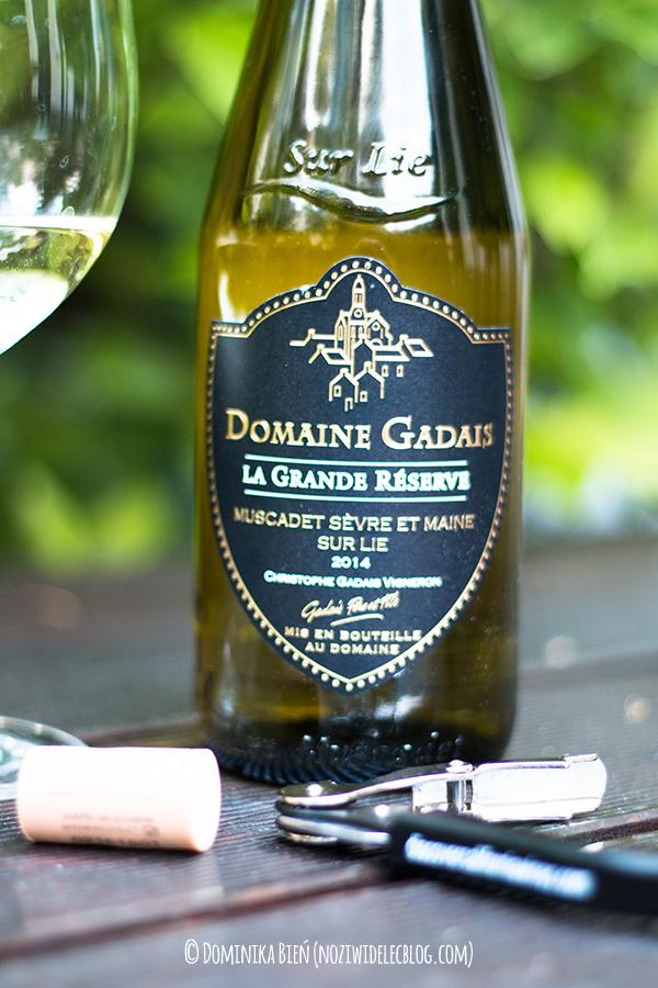 Domaine Gadais, Muscadet, białe wino, lidl