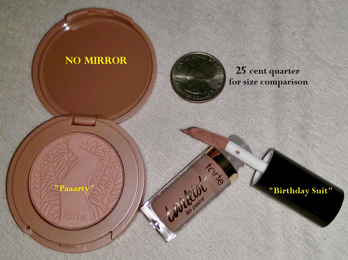 Review Amazonian Clay 12 Hour Blush Tarteist Creamy Matte Lip Paint TARTE SEPHORA Insider Gift