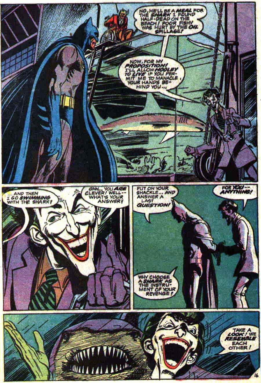 Batman #251 bronze age 1970s dc comic book page art by Neal Adams / classic Joker