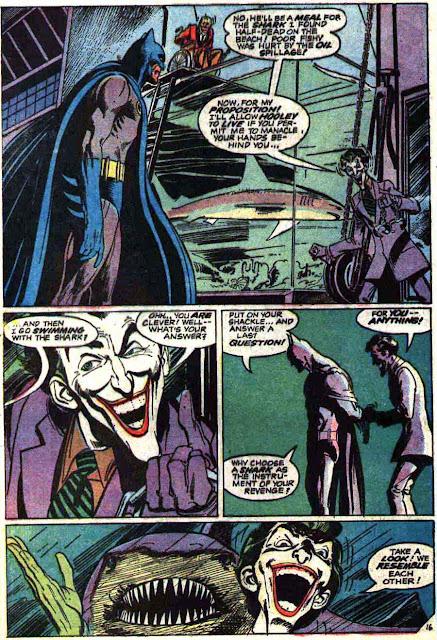 Batman v1 #251 dc comic book page art by Neal Adams