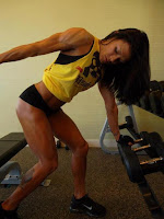 Female bodybuilding Female Fitness