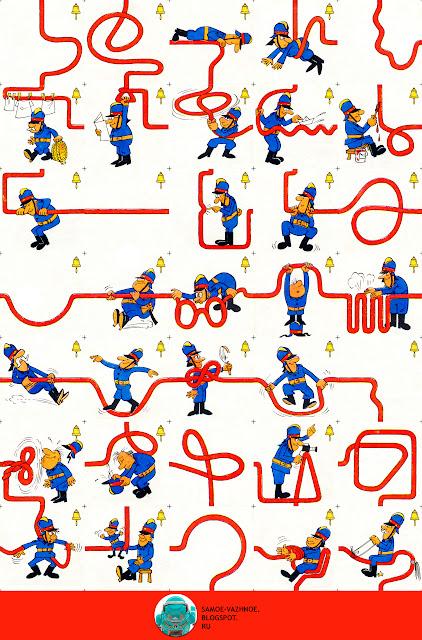 Настольная игра распечатать СССР.  Настольные игры ГДР. Игра СССР, советская Пожарные, пожарники, шланги, шланг, Ran, Run, Ран, ГДР.