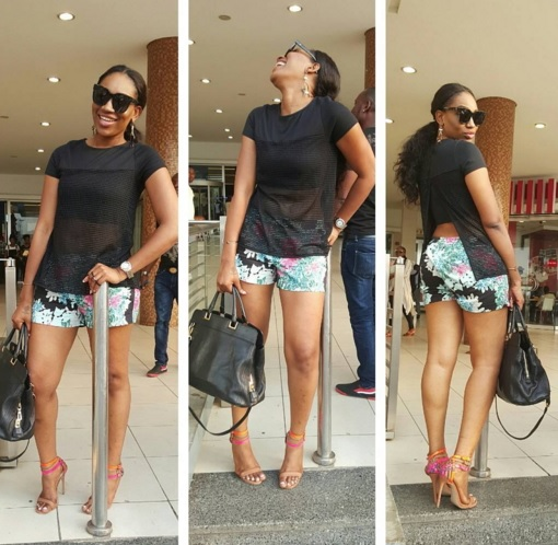 In Pictures: Ebube Nwagbo Steps Out In Risque Outfit As She Marks 32nd Birthday