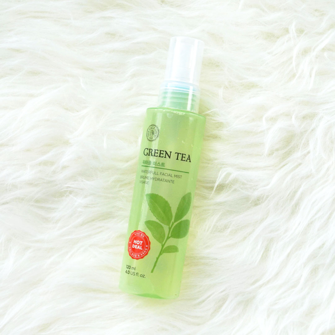 Green tea facial mist variant