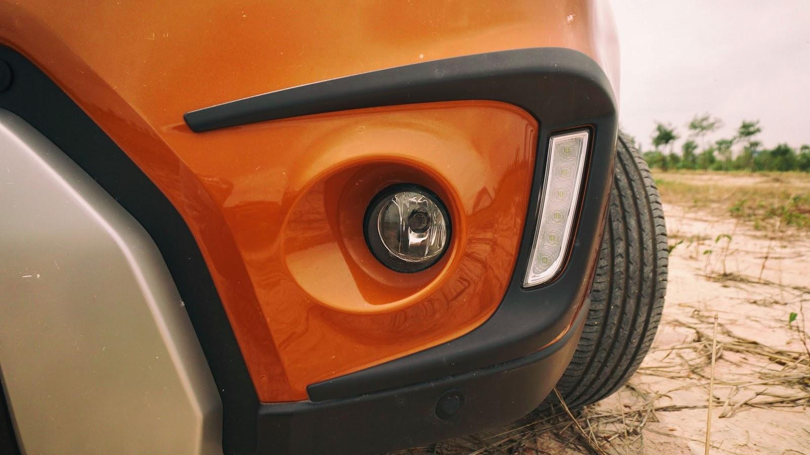 Hệ thống đèn sương mù và đèn ban ngày của Suzuki Vitara hoàn toàn mới