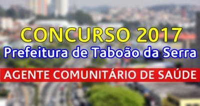 Concurso Taboão da Serra 2017