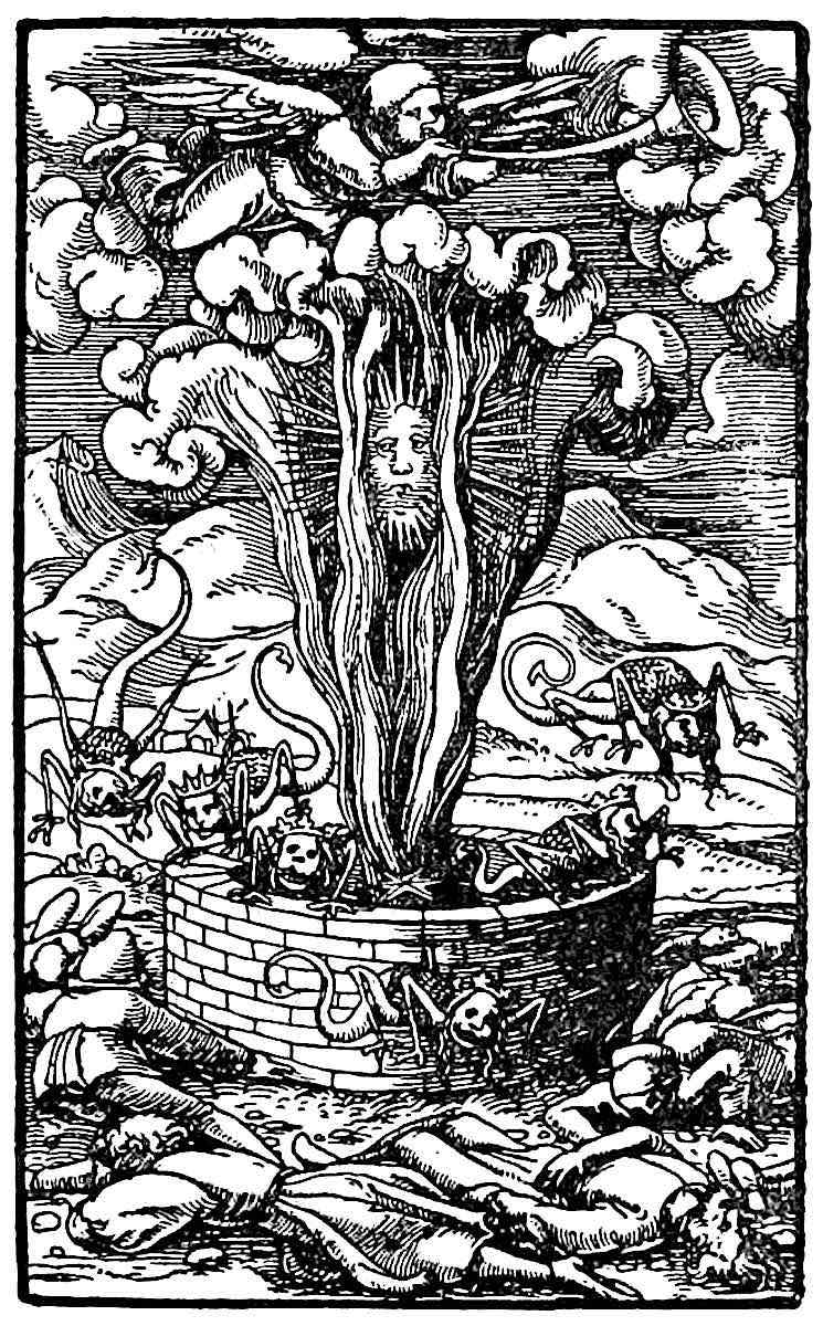 a 1500s illustration of a poisoned well