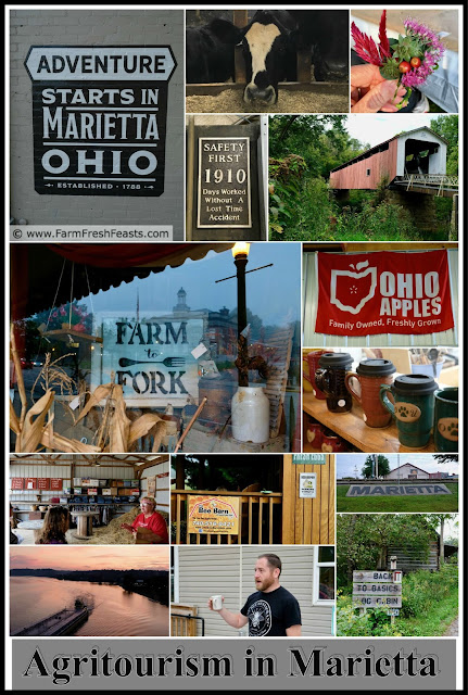 Marietta Ohio is a terrific getaway vacation for agritourism adventures.