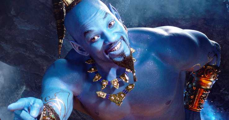 will smith genie aladdin 2019