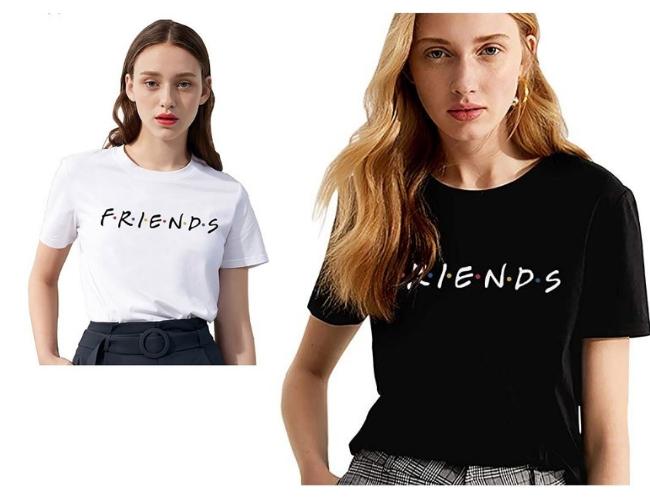 Camiseta de la Serie Friends, comprada en Amazon