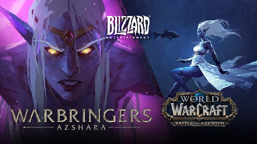 world of warcraft warbringers queen azshara