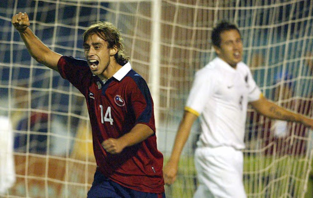 Chile y Nueva Zelanda en partido amistoso, 25 de abril de 2006