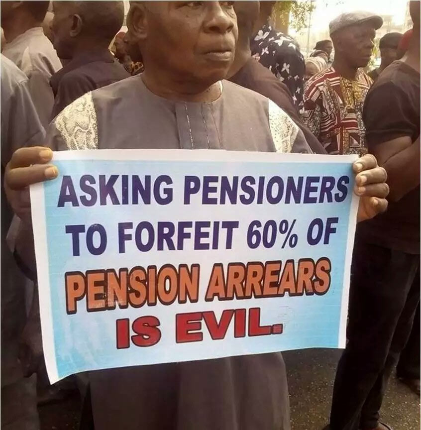 Pensioners in Imo curse curse Gov Rochas as they are made to sign 60% pension forfeiture